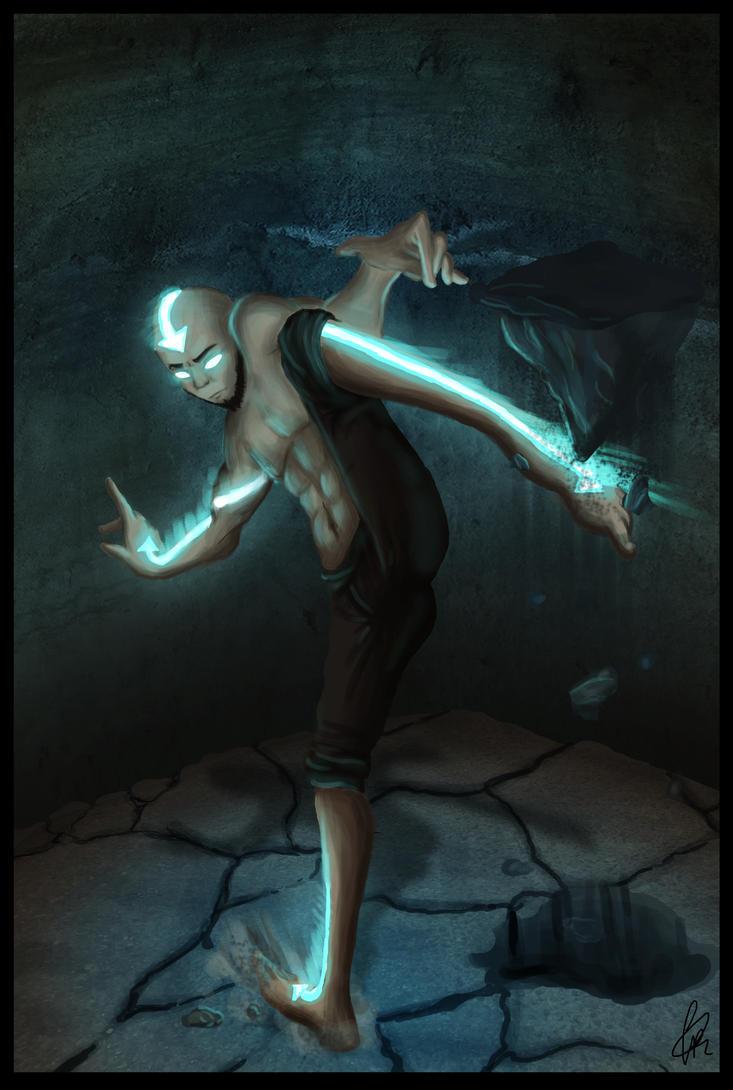 Avatar State by MelancholyFalls on DeviantArt  Aang