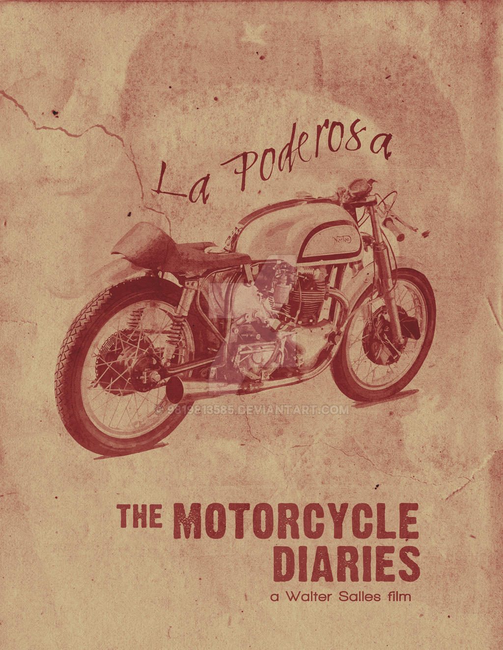 The Motorcycle Diaries Minimalist Posters By 9819813585