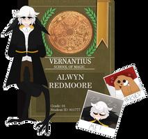 VERNANTIUS APPLICATION  .  Alwyn Redmoore by esp-urrs