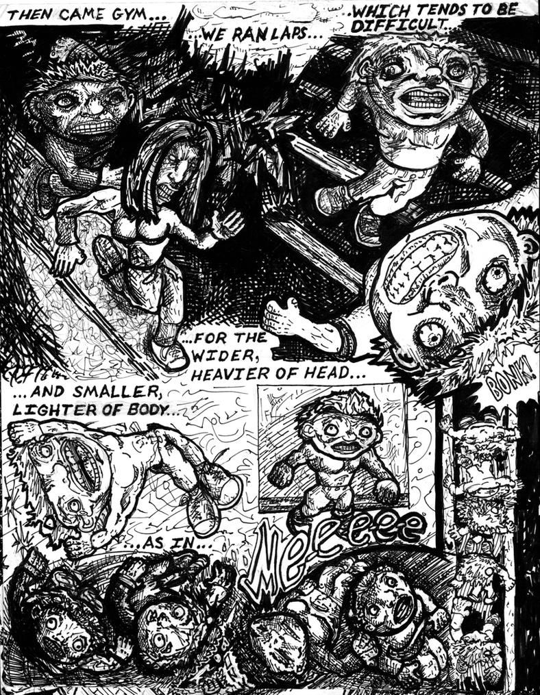 Cornman Page 8-B and W by racingspoons