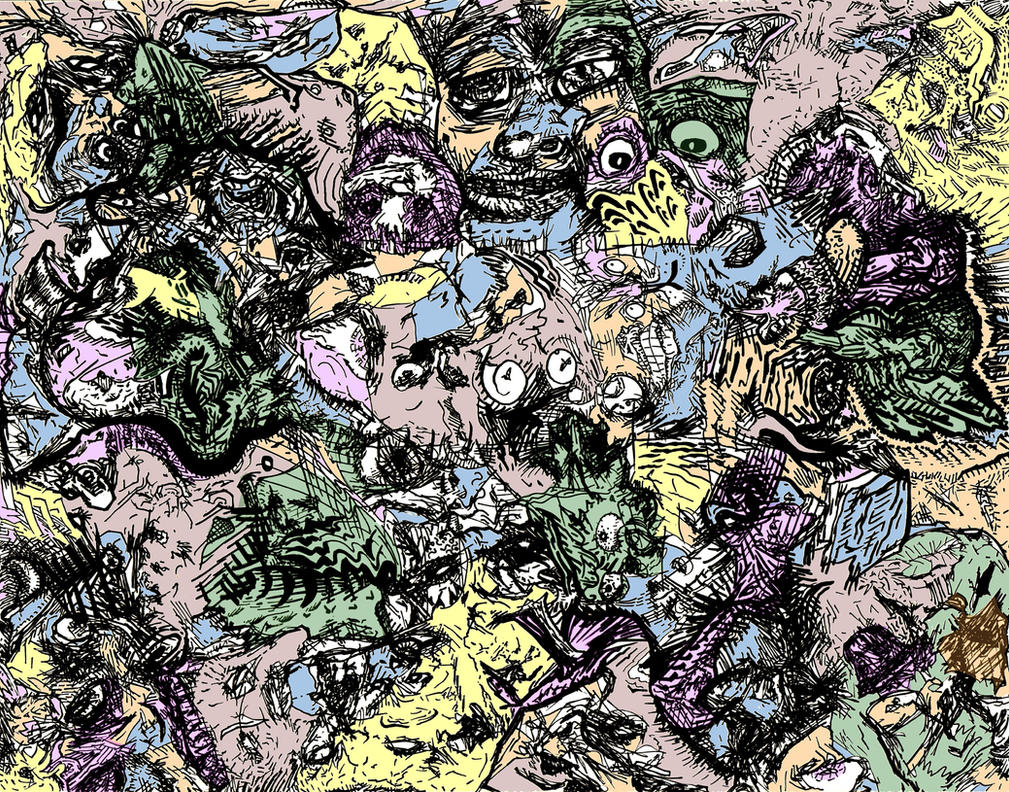 Fleshscape 1 Color by racingspoons
