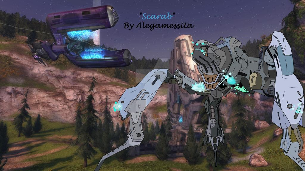 Halo 2 Scarab by Alegamessita