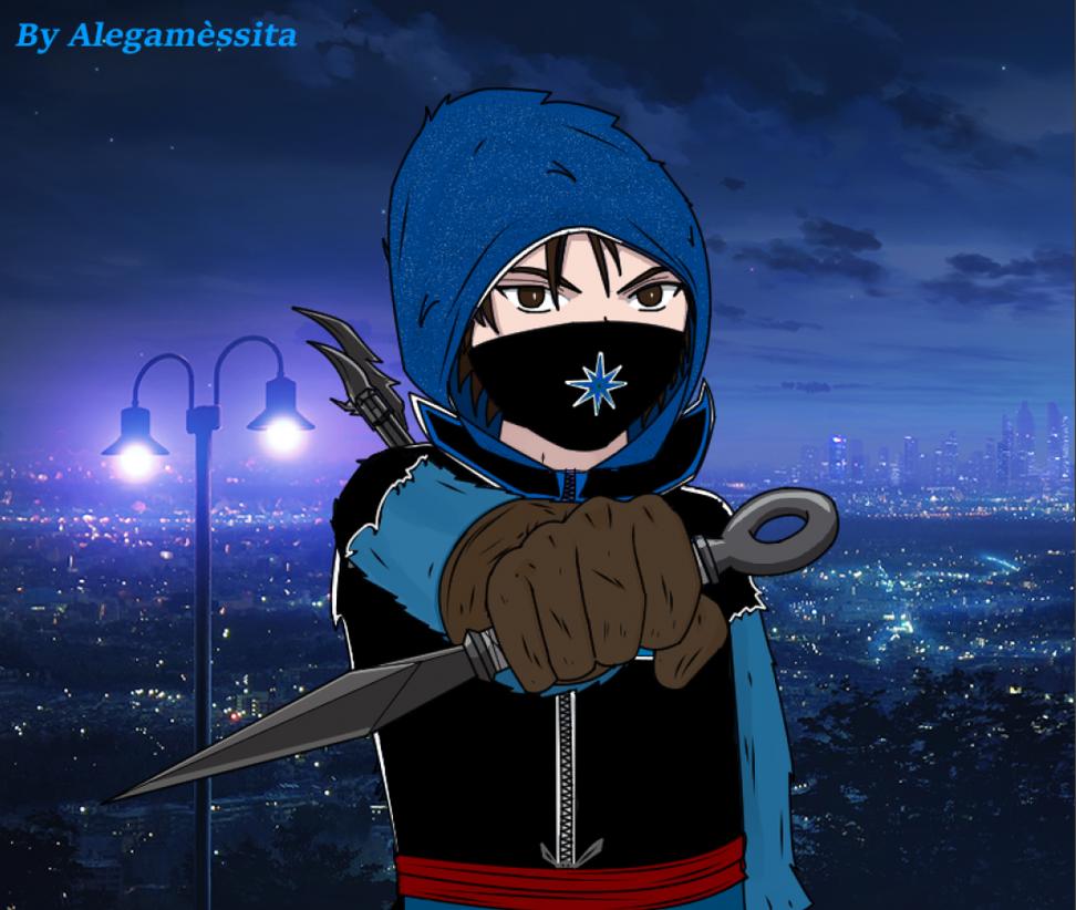 Ninja Alegamessita by Alegamessita