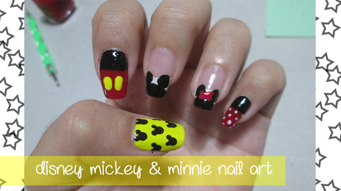 Disney mickey and minnie nail art tutorial by rishamu on deviantart mickey and minnie nail art tutorial by rishamu prinsesfo Image collections