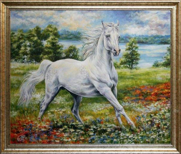 Arab horse by ALicornArt