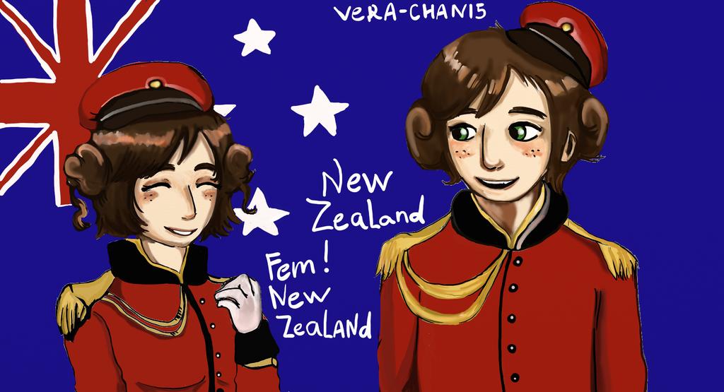 Hetalia New Zealand by Vera-chan15