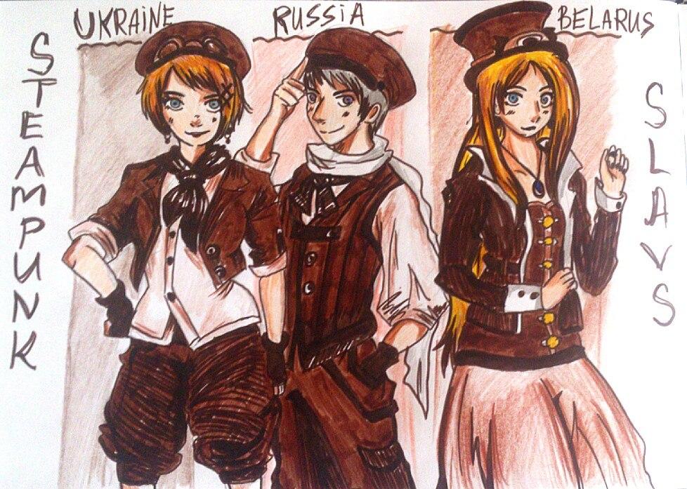 Slavic Steampunk by Vera-chan15