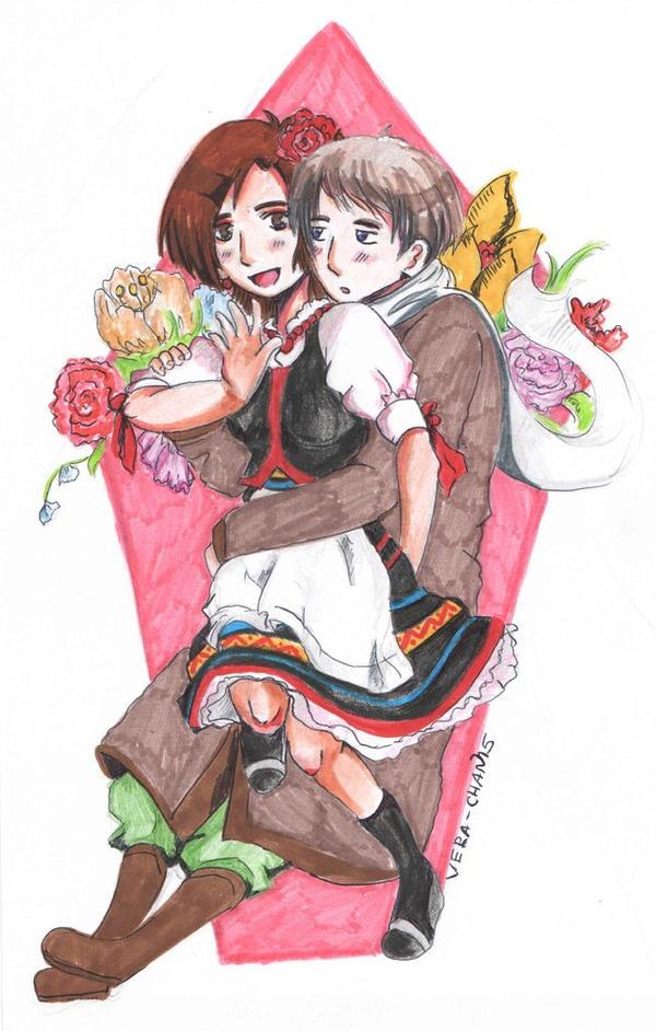 Hug me, sweety. by Vera-chan15