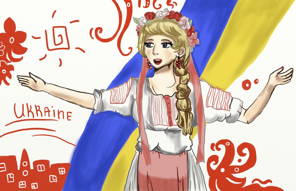 Ukraine's song by Vera-chan15