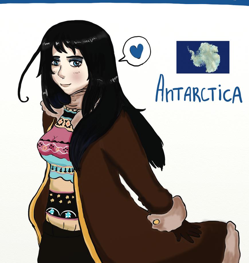 ARH:Antarctica by Vera-chan15