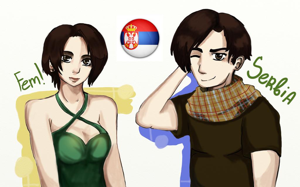 Male/Fem Serbia by Vera-chan15