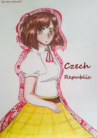 Czechia-chan by Vera-chan15