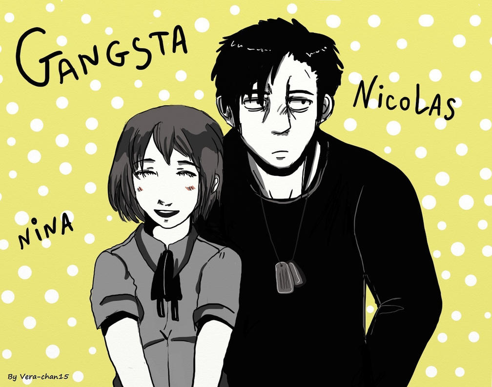 Gangsta : Nina and Nicolas by Vera-chan15