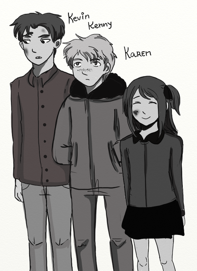 SP: Kenny Kevin Karen by Vera-chan15