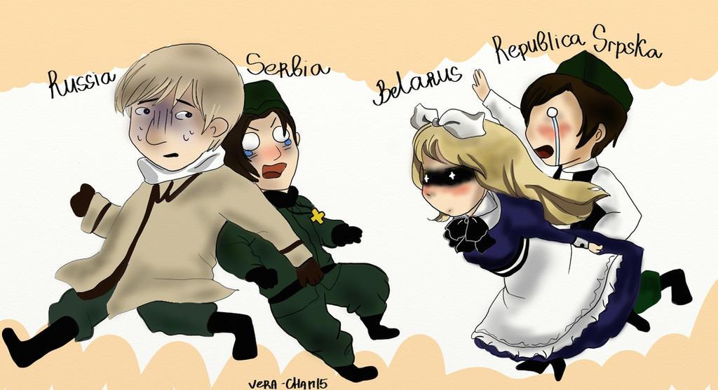 RQ: Run, Russia and Serbia, run! by Vera-chan15