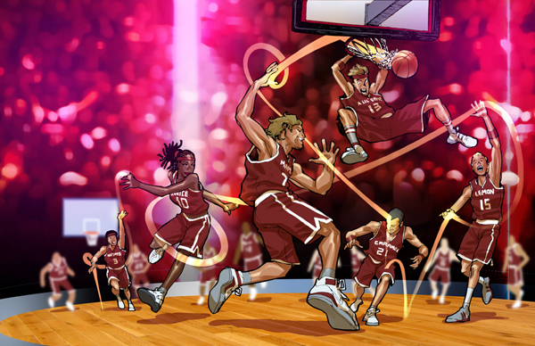 drpepper basketball by bernardchang