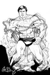 superman by bernardchang