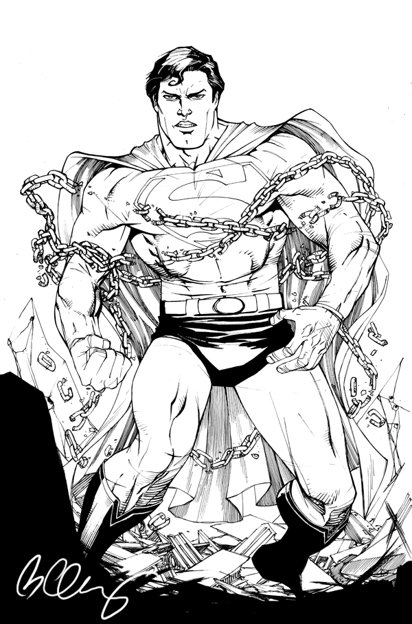 superman by bernardchang