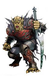 demon knights 0 cover by bernardchang