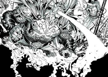 Demon Etrigan by bernardchang
