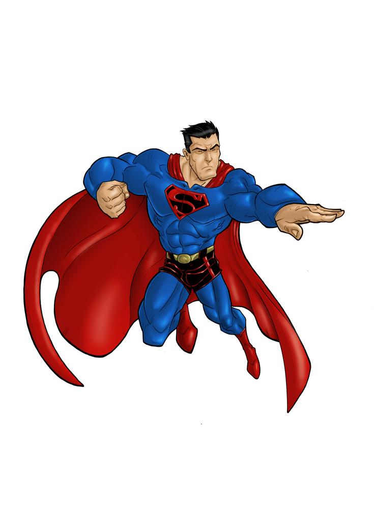 superman by HEROBOY