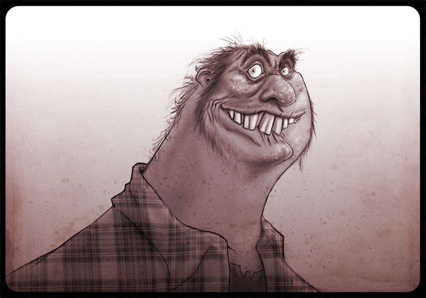gross guy by HEROBOY