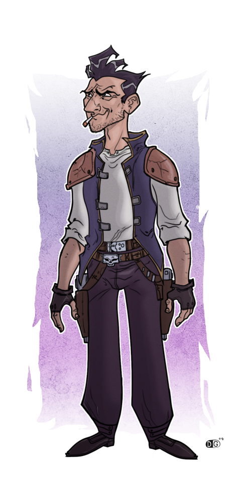 han solo design by HEROBOY