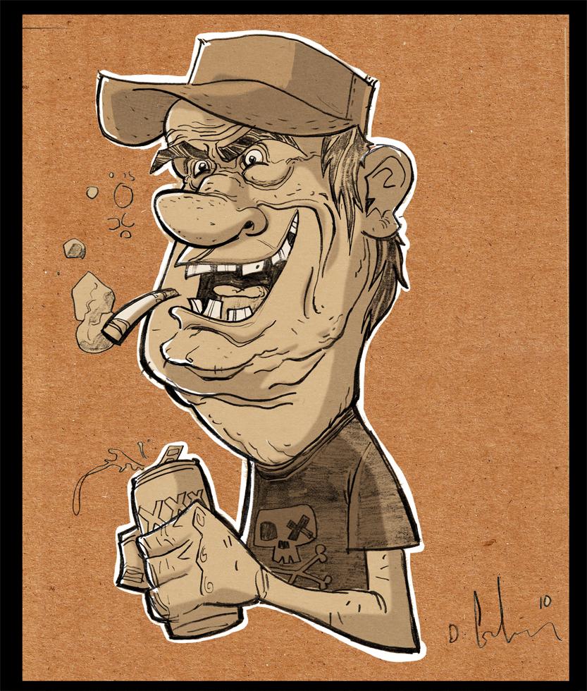 beer guy by HEROBOY