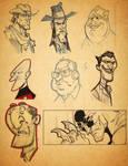 sketch book stuff
