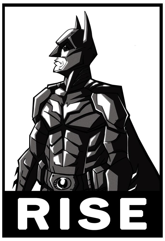 bat man rise by HEROBOY