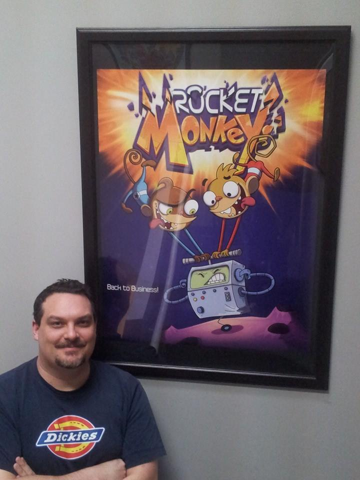 my Rocket monkeys poster by HEROBOY