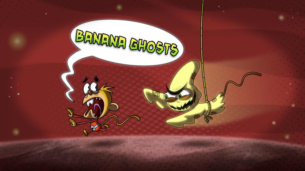 Bnana Ghosts Copy by HEROBOY