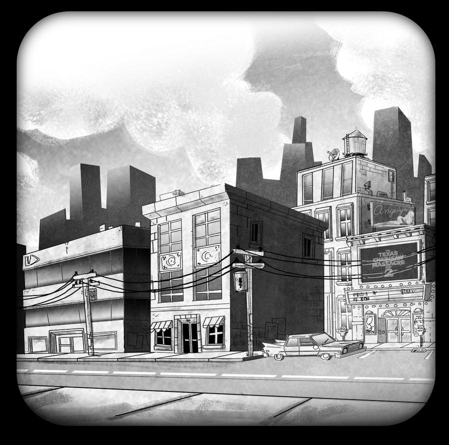 city Sketch by HEROBOY
