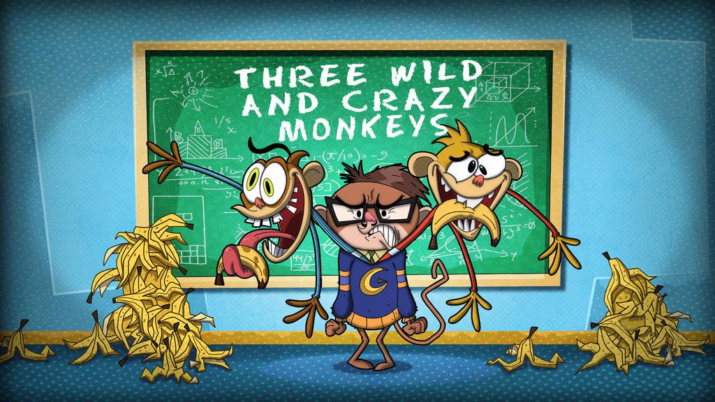 Rocker monkey Tilecards by HEROBOY