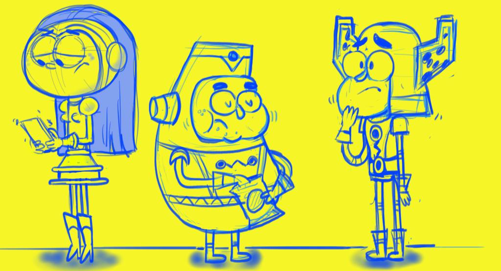 character development by HEROBOY