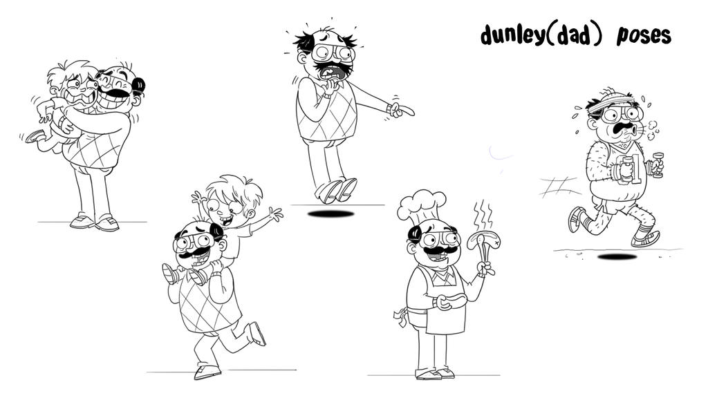 Dunley Poses by HEROBOY
