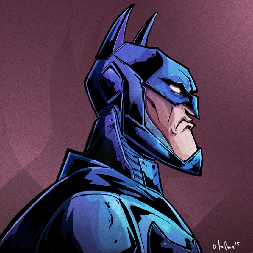 batman head by HEROBOY