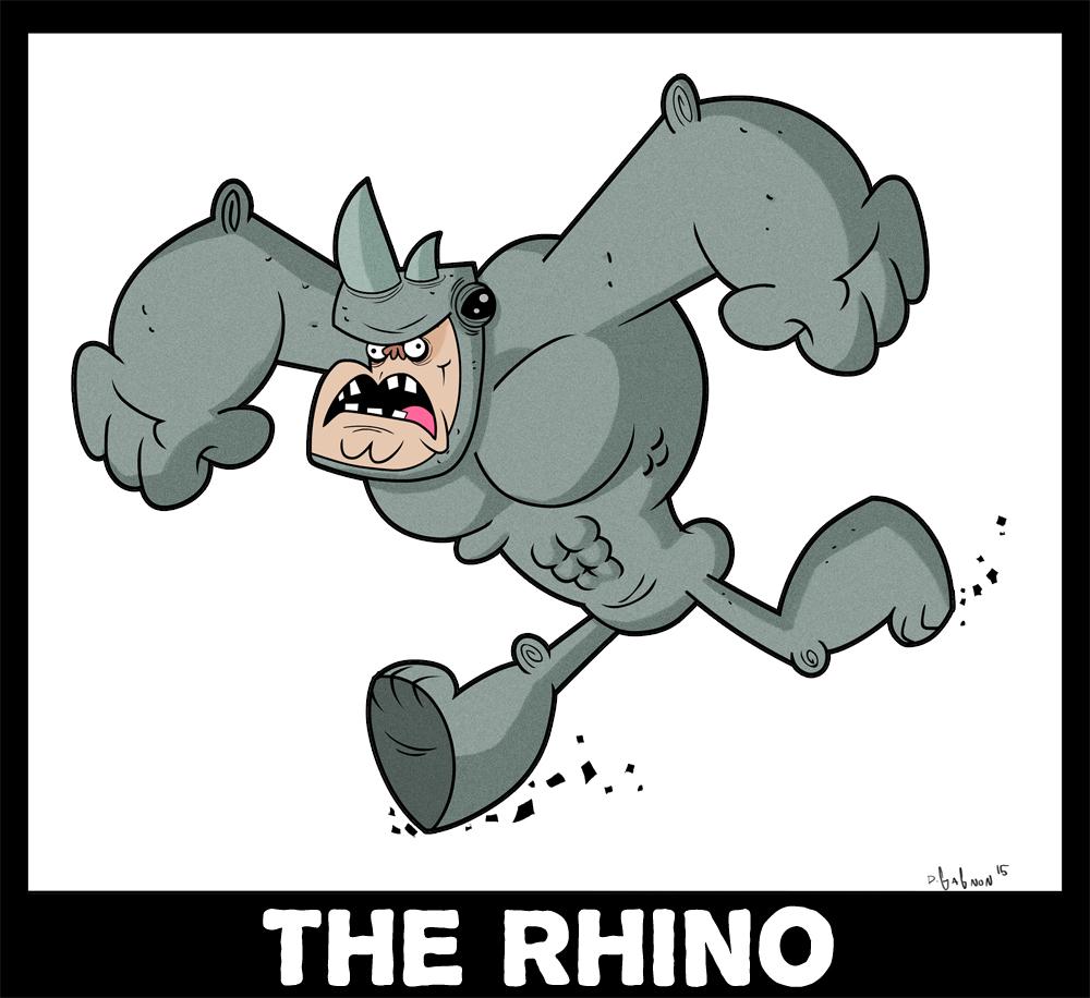 Rhino1 by HEROBOY