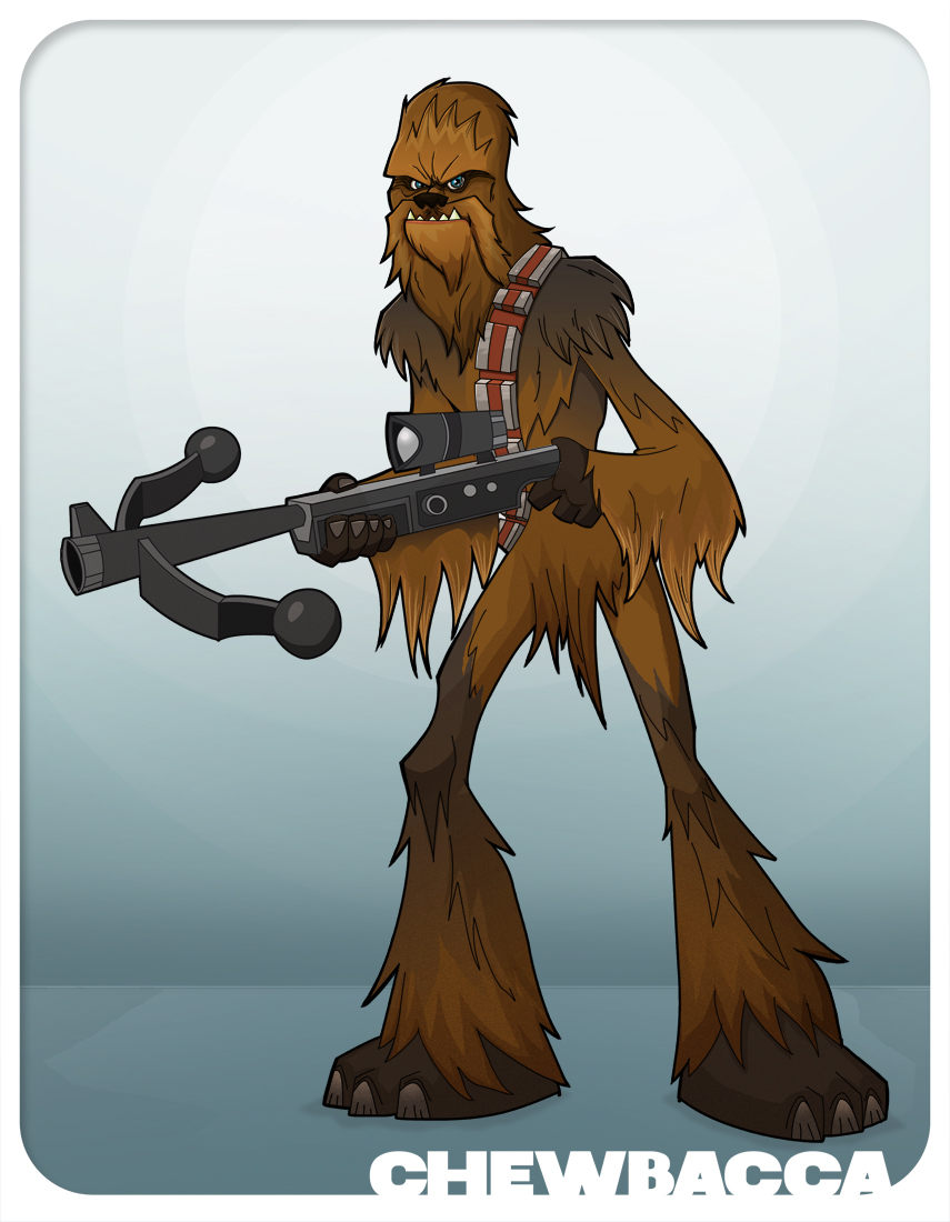 #CHEWBACCA by HEROBOY