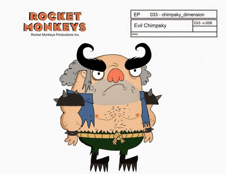 chimpsky design by HEROBOY