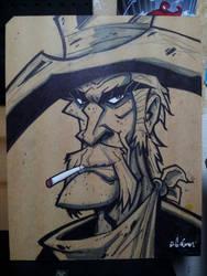 cowboy by HEROBOY