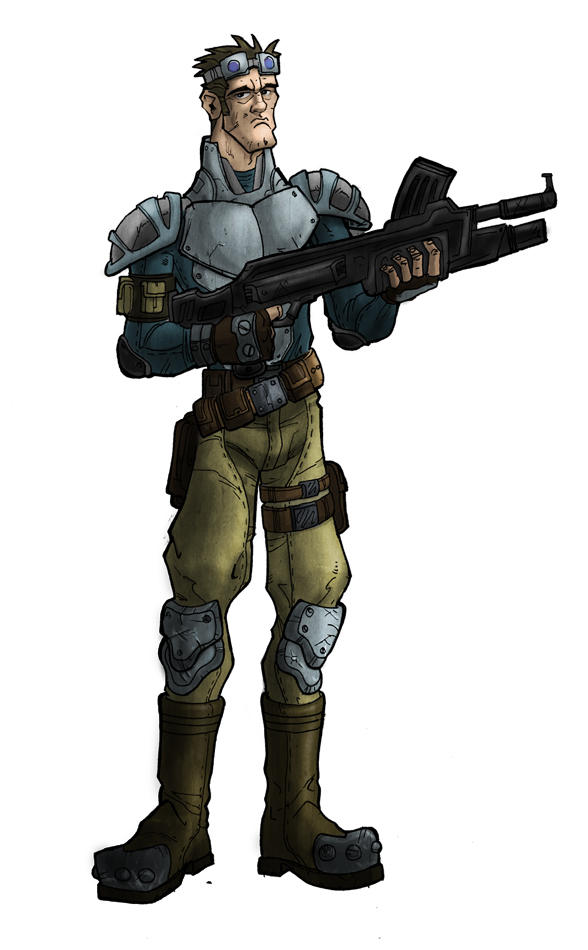 future soldier type by HEROBOY