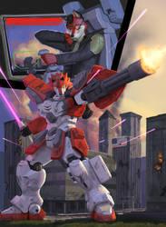 Custom Heavy Arms Ezo