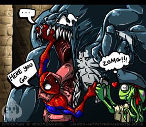 ZOMG Spiderman and Venom