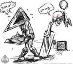 Oh my...Pyramid Head