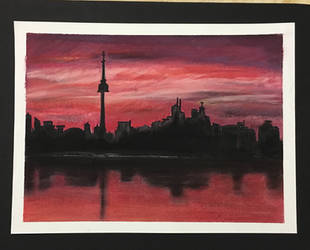 Red Toronto by BethannNg
