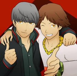 .:Gift:. Izanagi and Jiraiya by Egocentric-Adachi
