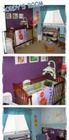 Jordy's Nursery Art Project