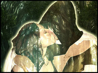 Kiss in the Forest by Pupiattola