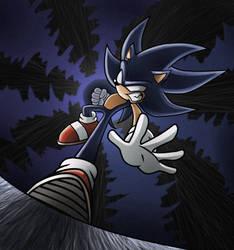 Dark  Sonic by Raito-Sarudoi